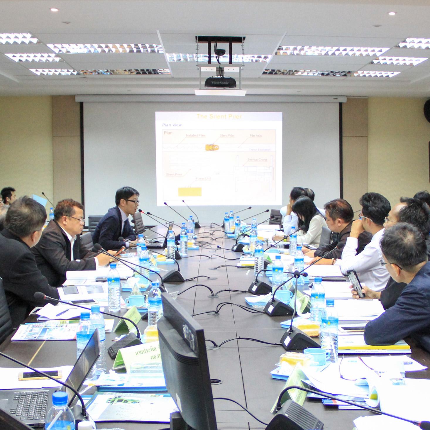 「Seminar On Japanese Construction Technology」(タイ バンコクで開催)にてプレゼンを行いました。