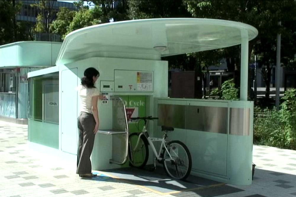 エコサイクルの使い方 (入庫と出庫)