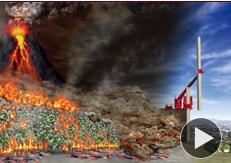 火山噴火で火砕流発生