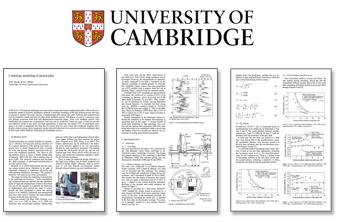 ケンブリッジ大学との共同研究