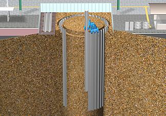 エコサイクルの施工方法 1