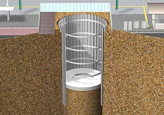 エコサイクルの施工方法 2