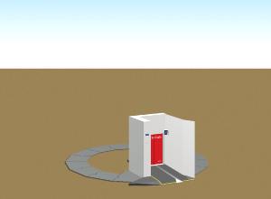 MOBILE ECO Cycle ベースと入出庫ブースの設置