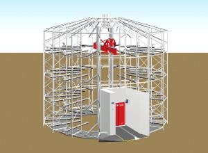 MOBILE ECO Cycle フレームパーツの組立と機械装置の設置