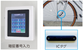 MOBILE ECO Cycle 選べる認証方式