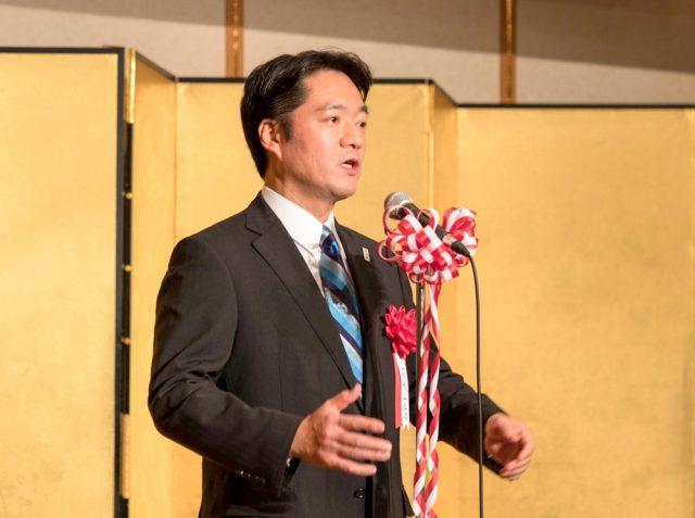 ご祝辞をいただいた高知県知事 尾﨑正直様
